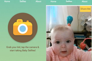 Baby Selfie App Means Selfies Are Over