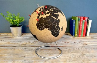 Pin Places You've Traveled With A Cork Globe