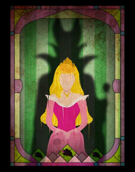 disney-princess-villain-shadows-4