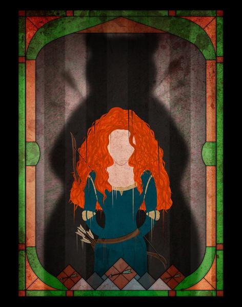 disney-princess-villain-shadows-8