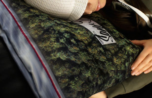 Giant Weed Stash Pillowcase