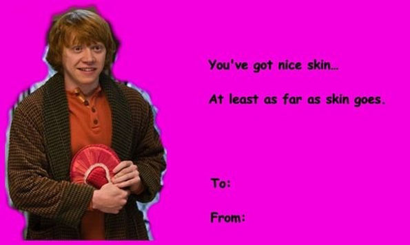 Corny Harry Potter Valentines | Incredible Things