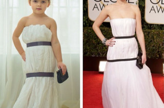 Mom & Daughter Recreate Famous Dresses From Paper