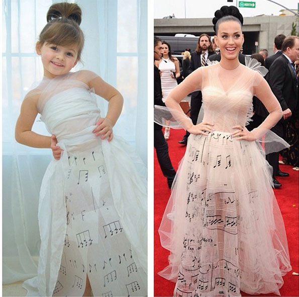 Mom & Daughter Recreate Famous Dresses From Paper | Incredible Things