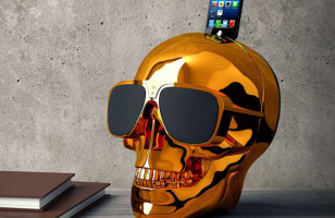 Bad-Ass Skull Speakers