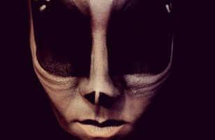 GAHHH! Creepy Alien Face Paint