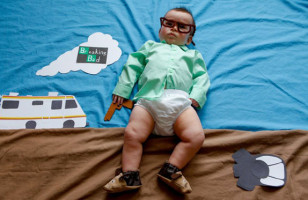 Baby Dresses As TV Show Characters