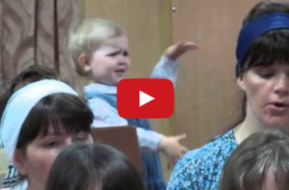 Baby Conducts Choir, Hilarity Ensues