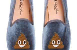 Happy Poop & Other Emoji Loafers