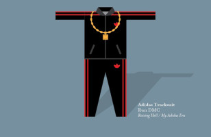 Print Illustrates Flashy Outfits Worn By Iconic Musicians