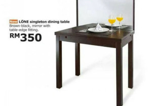IKEA Table For The Lonely Diner