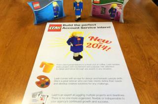 Woman Creates LEGO Résumé To Land Advertising Job