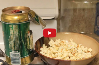 How To Pop Popcorn In A Can