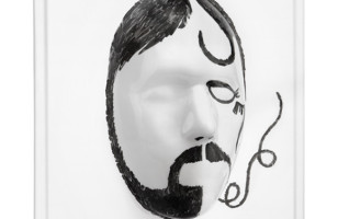 3D Face Whiteboard Spices Up All The Boring Notes