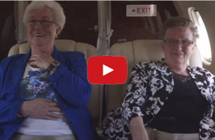 Two Old Ladies Taking Their First Flight Will Make You Happy