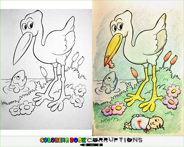 morbid coloring pages - photo#19
