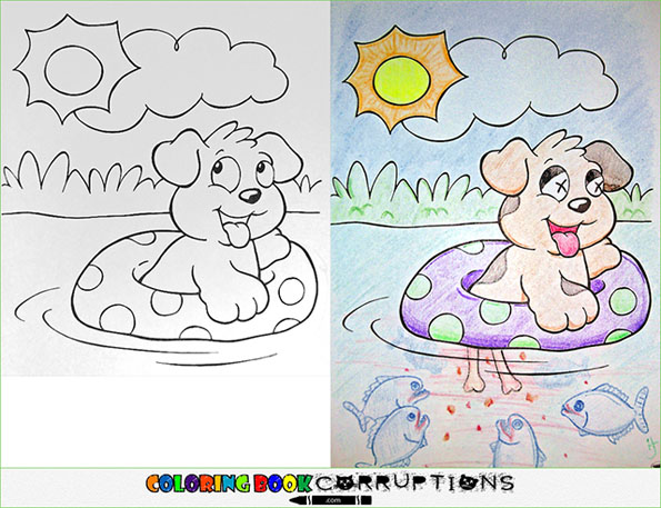 morbid coloring pages - photo#30