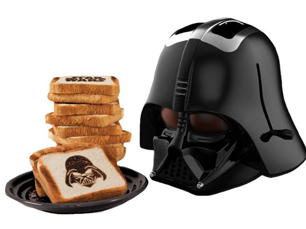 Darth Vader Toaster Toasts A Little On The Dark Side