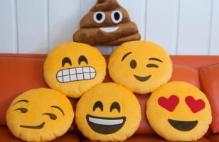 Express Yourself With Emoji Pillows