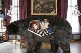 A Dude Lived In A Taxidermy Bear For 2 Weeks