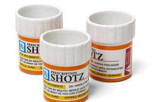 Rx Shot Glass Contains All The Medicine You Need