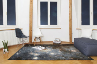 These Space Nebula Rugs Are Outta This World!