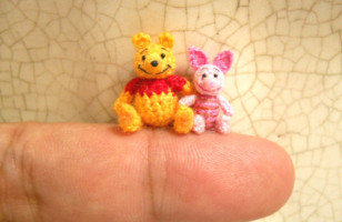 Meet The Tiniest Cutest Crocheted Animal Figures