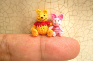 Meet The Tiniest Cutest Crocheted Animal Figures