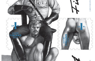 Finland's New Sexy Homoerotic Postage Stamps
