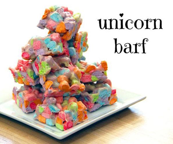 Unicorn Barf Makes For A Delicious Treat