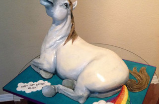 Why Not?: A Unicorn Farting A Rainbow Cake