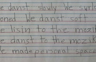 1st Grader's Poem Will Make Your Poem Feel Inadequate