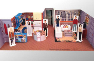 Awesome DIY Papercraft Dioramas Of Popular TV Show Sets