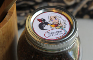 Cute & Whimsical Game of Thrones Mason Jar Labels