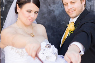 This Couple Had A Mega Elaborate Harry Potter Wedding