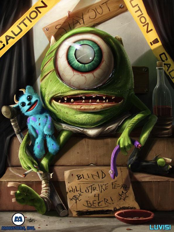 Killer Cartoon Characters 14