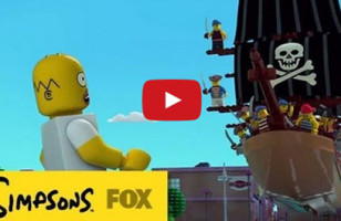 The Simpsons Do A LEGO Episode