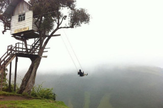 Swing At The End Of The World Is Terrifying/Beautiful