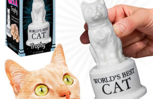 For Good Kitties: The World's Best Cat Trophy