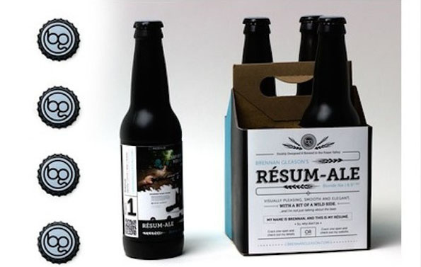 Man Brews Up A Resum-Ale Instead Of A Traditional Résumé