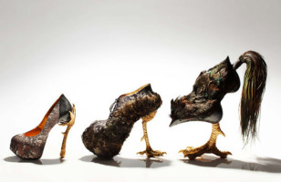 Well Owl Be Damned: Kooky Shoes Inspired By Birds