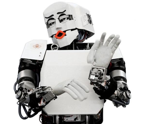 comedian-robot