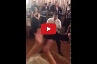 11-Year-Old & His Dad Have A Dance-Off, It's Intense