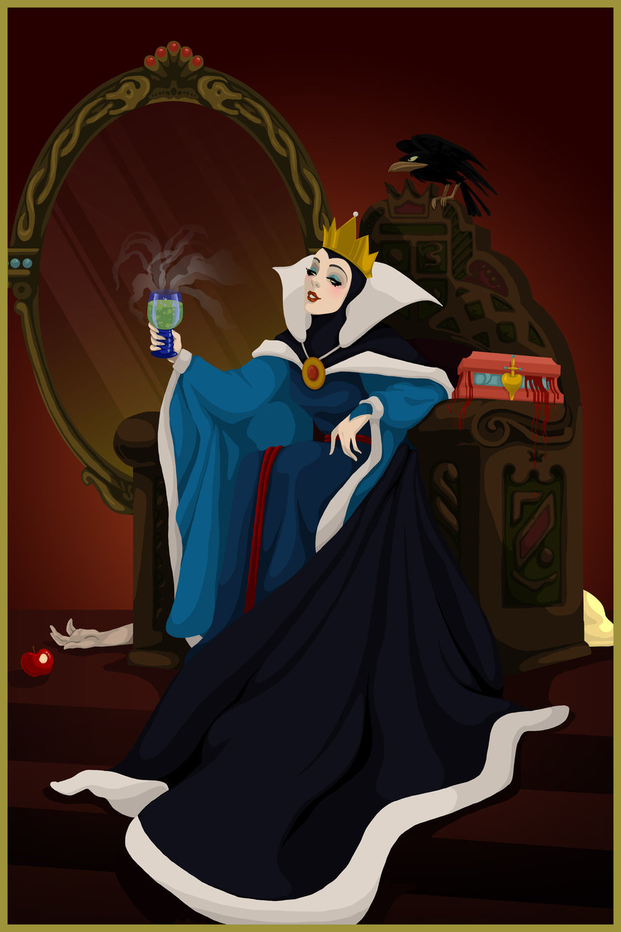 If disney villains won things would be real sad - Evil queen disney ...
