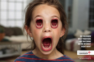 Kids With Mouths For Eyes. Someone Hold Me I'm Scared.