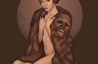 Princess Leia's Chewbaccoat & More Incredible Links