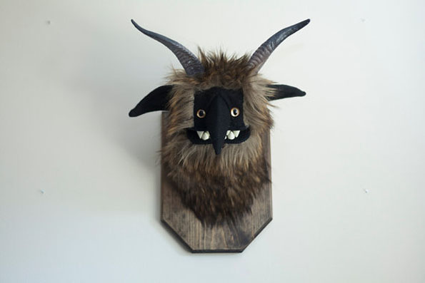 Mounted Stuffed Monster Heads Are Magical But Dangerous