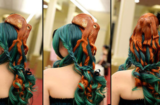 This Bad-Ass Octopus Hairpiece Is Very... Tentacular
