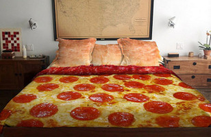 The Pizza Bed Is What Dreams Are Made Of