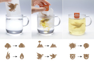 Transforming Tea Bags Go From Stressed To Relaxed In Hot Water